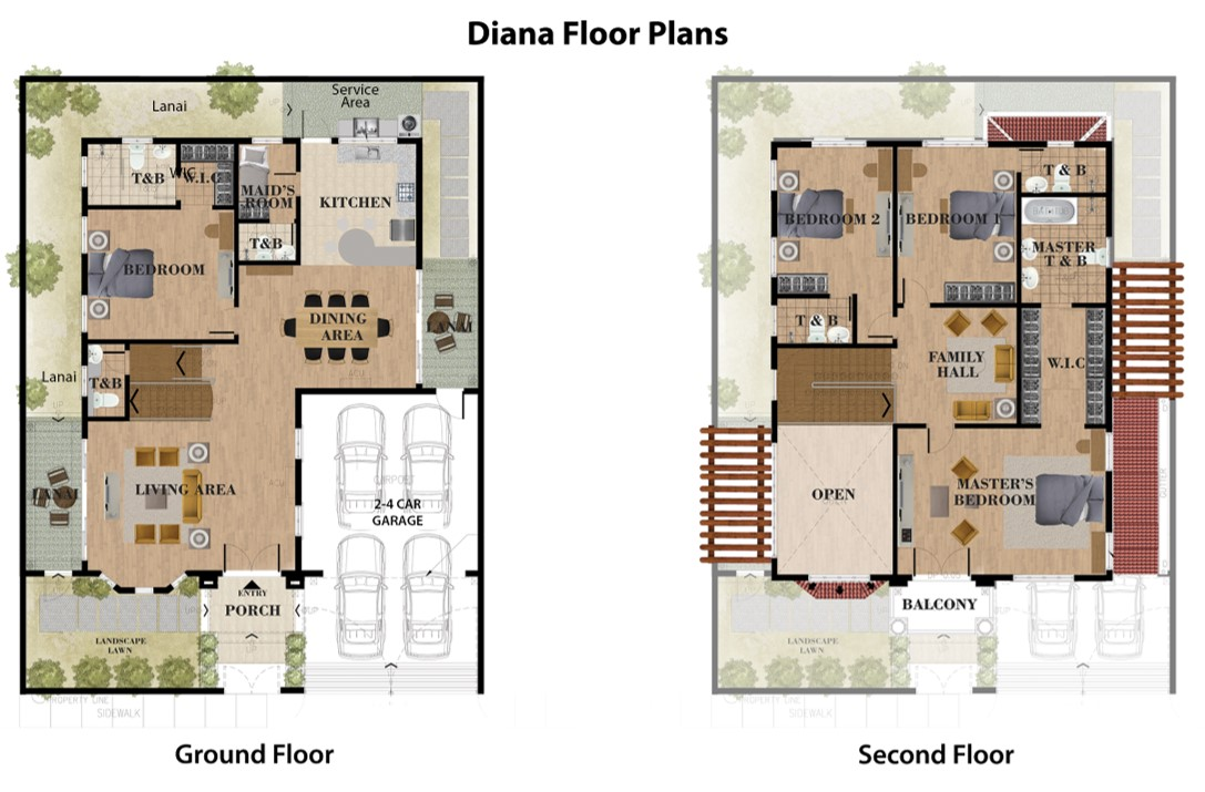 Diana Floor Plan