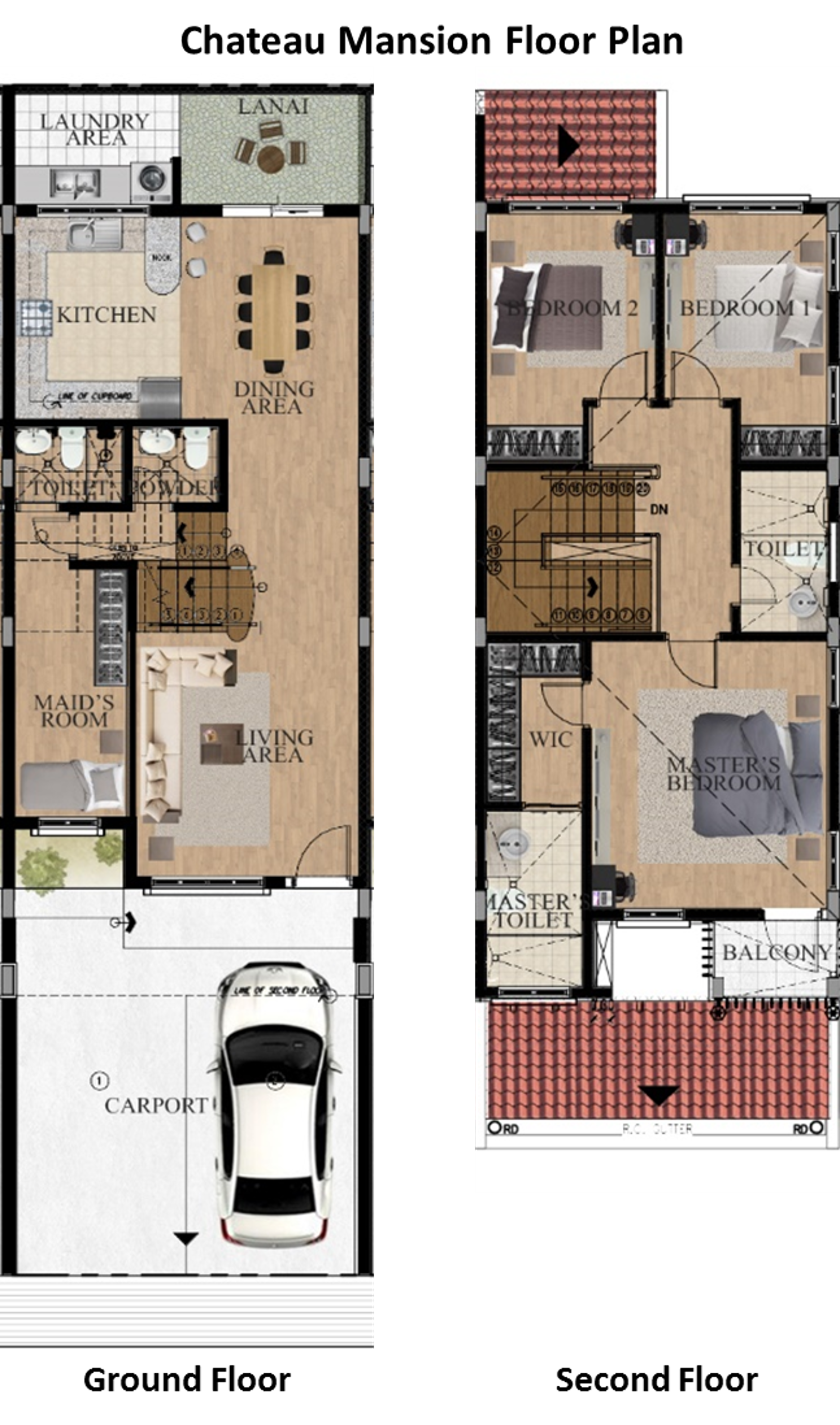 Chateau Mansions floor plan