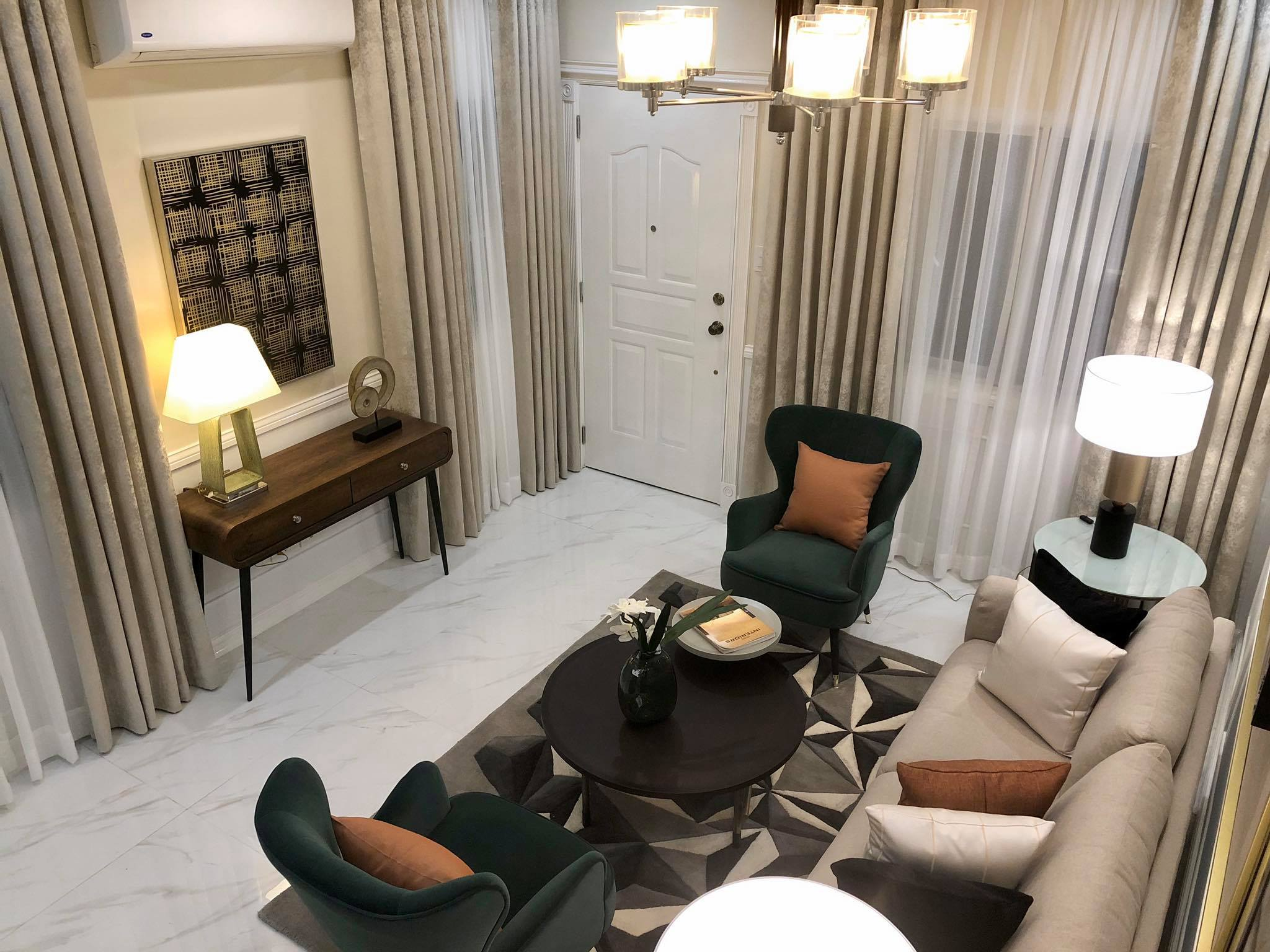 Versailles Village Alabang Chateau Mansion Townhouse Living Room 2