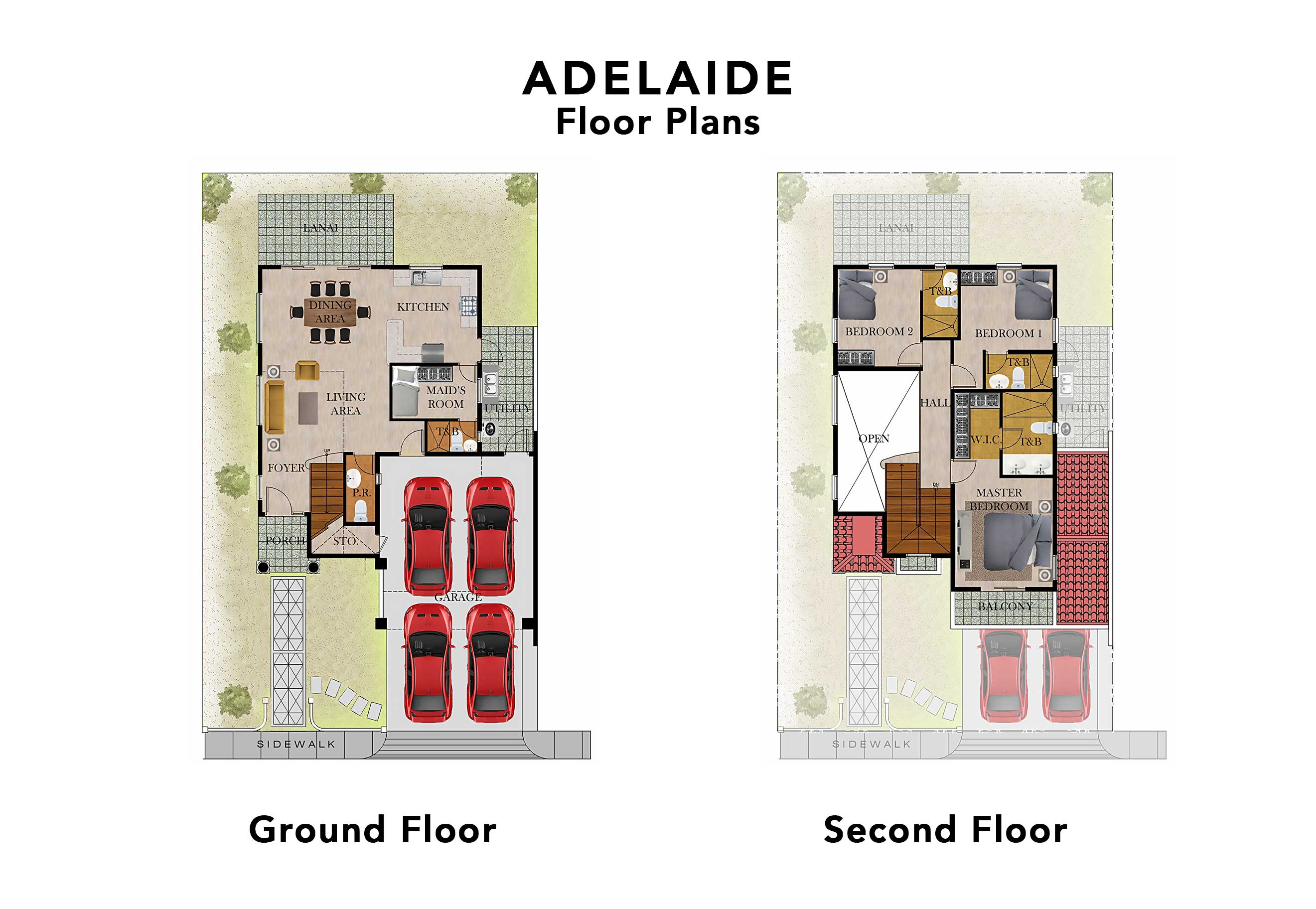 Adelaide Floor Plans UPDATED 20200818 (saved for web)