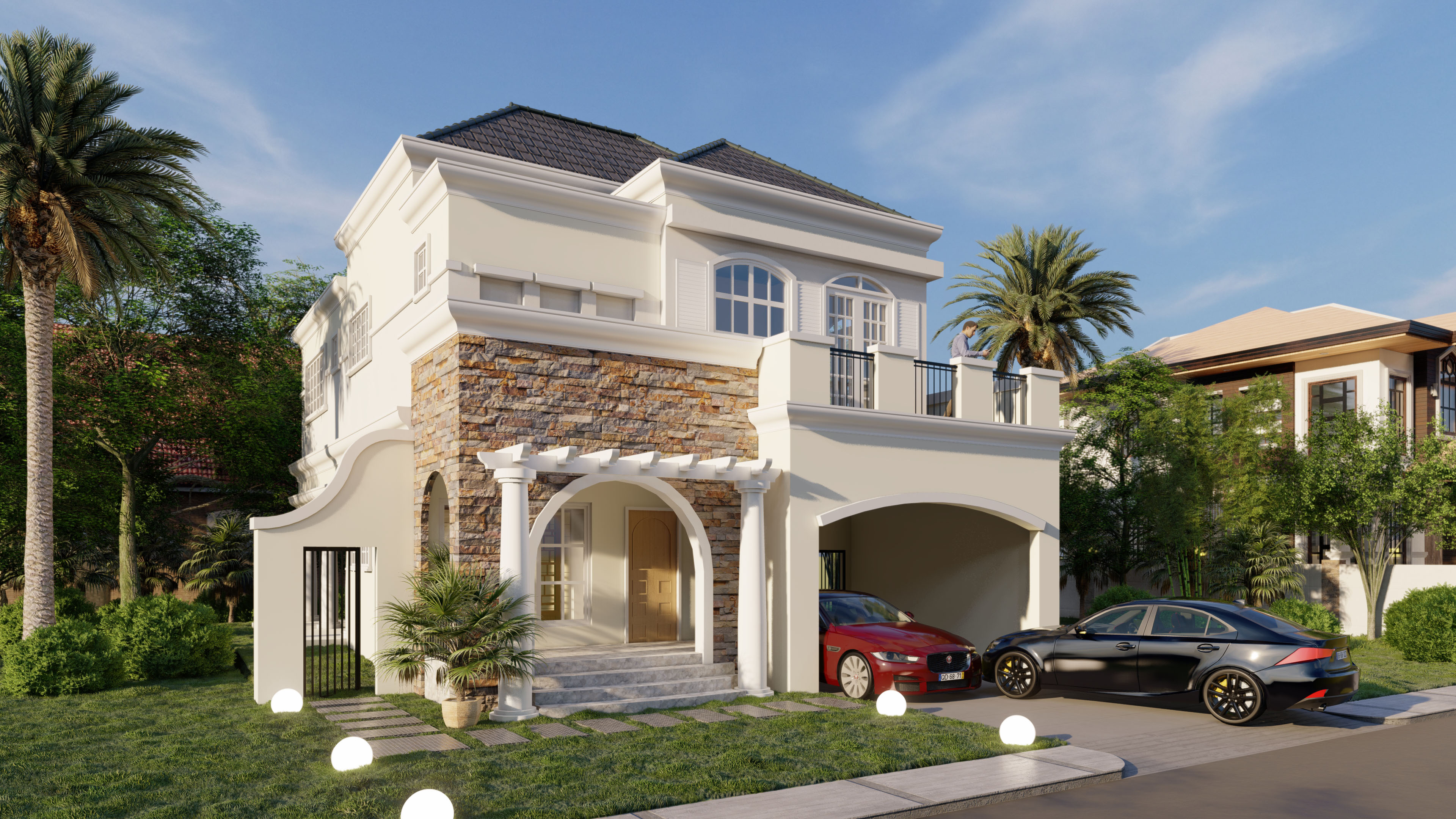 Verasailles Alabang Village Amelie House model 1