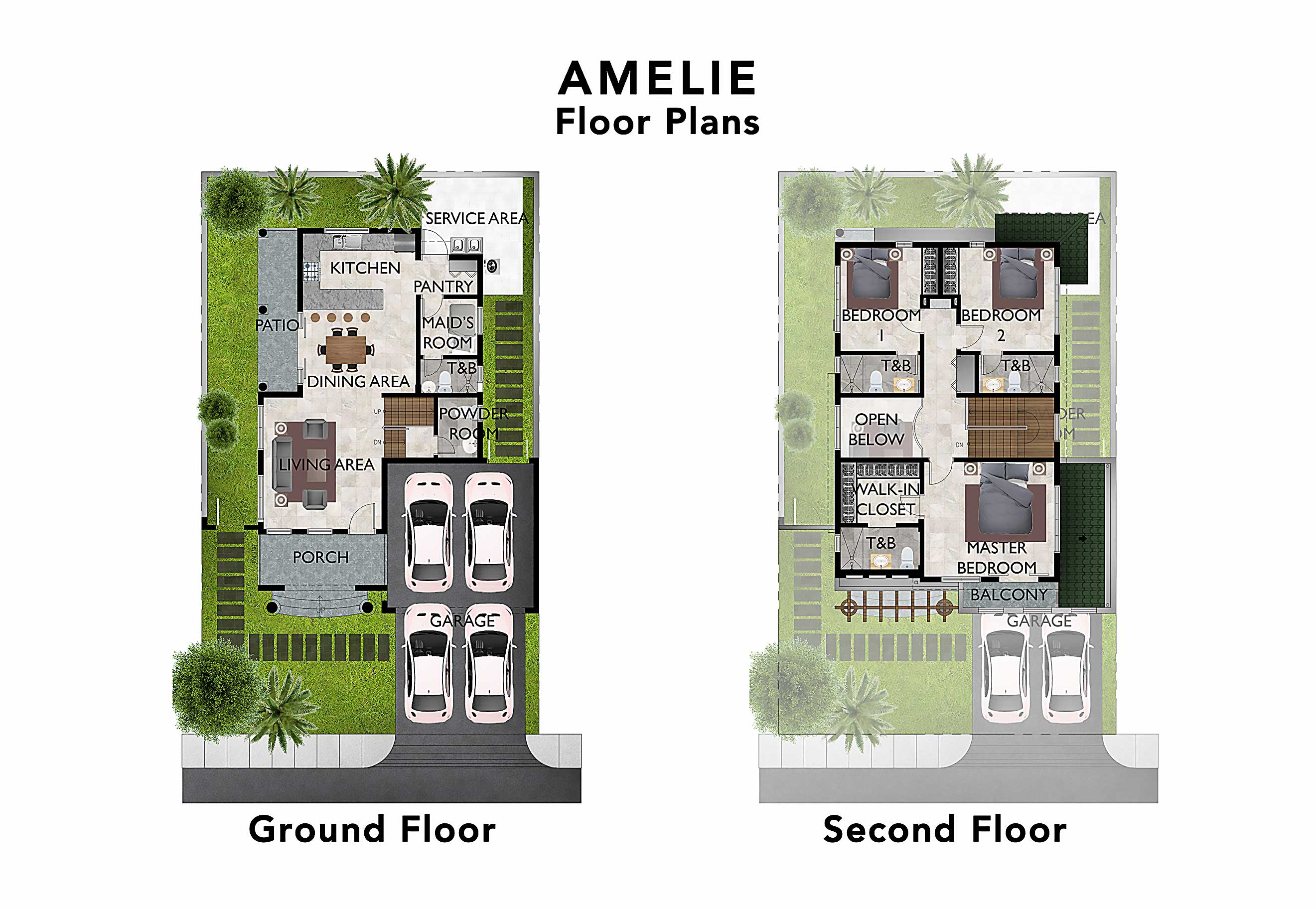 Alabang House for Sale Versailles Amelie Floor Plans UPDATED 20201217 (saved for web)