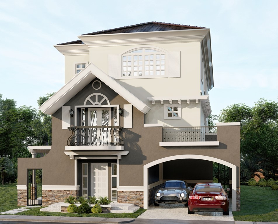 House for Sale Alabang Versailles Irene house model