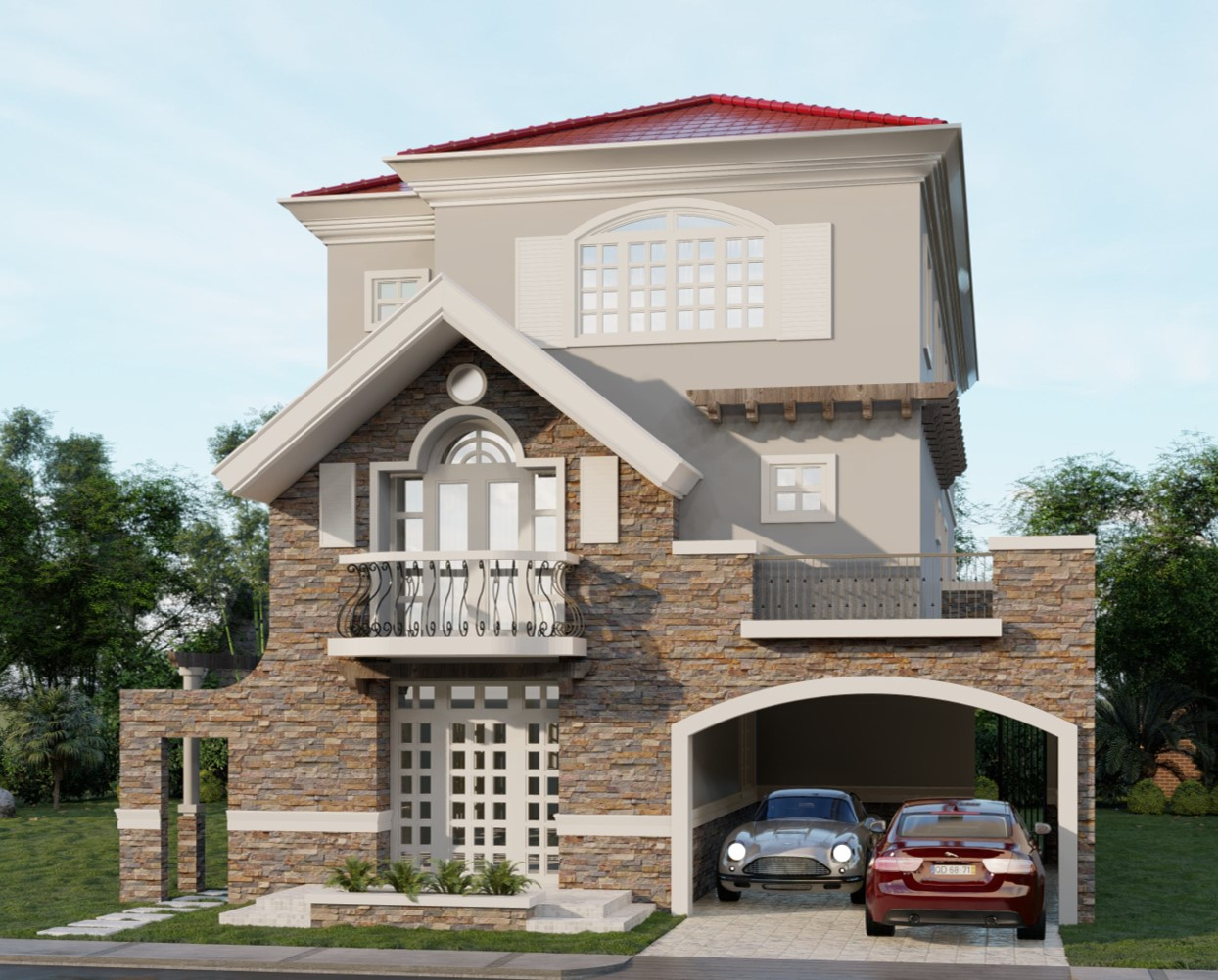 Versailles Alabang House For Sale Irene House Model